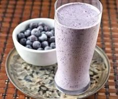 FOODs to Naturally Get Beautiful Skin  Blueberry Banana Smoothie:     1 cup of fresh blueberries (frozen if not available)  1 cup homemade almond milk  1 ripe banana  1 tsp of raw honey  a splash of vanilla extract  Combine all ingredients in a high-speed blender and whirl until smooth. Deliciousness!!!