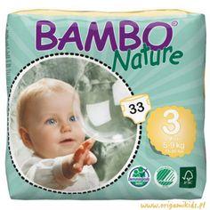 As fraldas descartáveisBambo Nature permitem um elevado conforto ao seu bebé, com um impacto ambiental mínimo. Fabricadas com matérias-primas ecológicas, apresentam todas as características das fraldas descartáveis convencionais, mas respeitando a delicada pele do bebé. Desenhadas para se adaptarem perfeitamente ao corpo do bebé, minimizando o risco de fugas