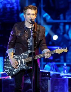 "Hunter Hayes...""But I don't want ""good"" and I don't want 'good enough' I want 'can't sleep, can't breathe without your love' Front porch and one more kiss, it doesn't make sense to anybody else Who cares if you're all I think about, I've searched the world and I know now, It ain't right if you ain't lost your mind Yeah, I don't want easy, I want crazy Are you with me baby? Let's be crazy."""