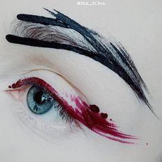 Makeup looks dark lipstick eyeshadows New ideas Makeup Hacks Eyelashes, Eyeshadow Makeup, Eyeshadow Ideas, Sfx Makeup, Makeup Remover, Makeup Inspo, Makeup Tips, Makeup Ideas, Makeup Trends