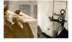 Ever wondered what we did before sat navs and mobile phones? Here are the bizarre vintage inventions that never caught on. A series of photographs has revealed the ingenious efforts from the first half of the 20th century that helped people manage the pressures of everyday life.
