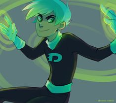 ikimaru:  I think somebody asked for Danny Phantom fanarts a while back 8') I'm still messing with color palettes