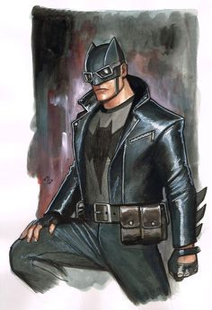 Rockabilly Batman by Adi Granov / Tumblr