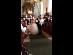Bryllup i Dronninglund Slotskirke Lørdag d.21-06-2014 - YouTube
