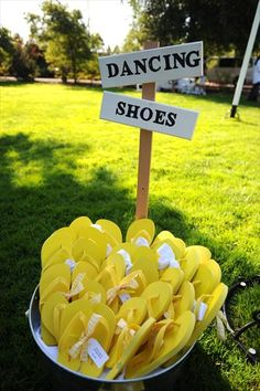 Kind of brilliant! Though I usually just hit the dance floor barefooted. Chic Wedding, Wedding Reception, Our Wedding, Dream Wedding, Wedding Yellow, Wedding Dreams, Event Planning, Wedding Planning, Cute Birthday Ideas