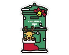 クリスマスのポスト型はがき2015