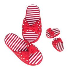 She'll love dressing up in the cozy Our Generation You & Me Shoes - Red Jersey Slip-Ons. These slip-on slippers are made to fit her and her doll - wear them around the house or to an extra special sleep over party with friends. Bed For Girls Room, Our Generation Dolls, Doll Shoes, Sleepover, Doll Accessories, American Girl, Doll Clothes, Red And White, Baby Shoes