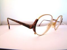 Armani Vintage Eyeglasses ITALY Round  LENS by ifoundgallery, $195.00
