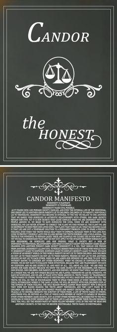 Candor Manifesto!
