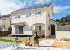 【アイジースタイルハウス】外観。自然素材+クアトロ断熱で叶えた、永く健やかに暮らせる理想の家