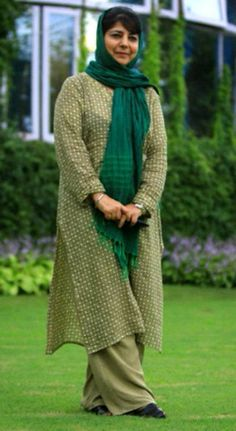 Mehbooba Mufti – The First Lady of Jammu And Kashmir