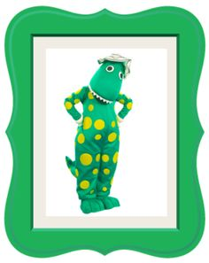 Dorothy the Dinosaur The Wiggles, Fun Stuff, Dinosaur Stuffed Animal, Printables, Toys, Funny, Animals, Art, Animales
