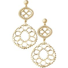 Stella & Dot Valentina Chandelier Earrings ($44) ❤ liked on Polyvore