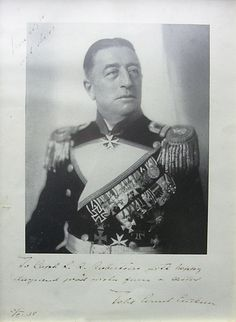 Photograph, Count Felix Von Luckner; 1982.1626.1 - Wellington Museum on NZMuseums