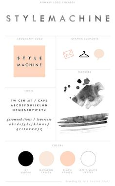 Custom Branding & Identity for Fashion Blog by Rive Gauche Craft