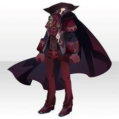 上半身/インナー 薔薇城主の装いAレッド