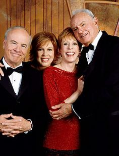 Tim Conway, Vicky Lawrence, Carol Burnett, Harvey Korman