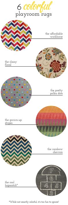 Building a Dream House: Colorful Playroom Rugs