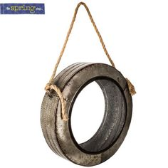Galvanized Metal Tire Hanger