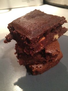 Brownies aux noix de Cyril Lignac mais à la sauce WW!!!