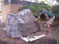 Chimp Enrichment (Termite Mound Construction) - Animal Enrichment : Honolulu Zoo
