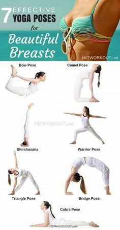 7 EFFECTIVE YOGA POSES FOR BEAUTIFUL BREASTS #yogalifestyles