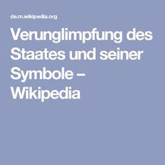 Verunglimpfung des Staates und seiner Symbole – Wikipedia