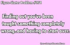 Figure Skater Problems