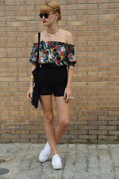 Style Sónar - 2014 Off Shoulder Blouse, Short Dresses, Tops, Women, Style, Fashion, Short Gowns, Swag, Moda
