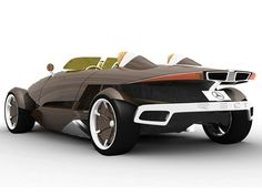 Mercedes-Benz RECY recycleable concept car