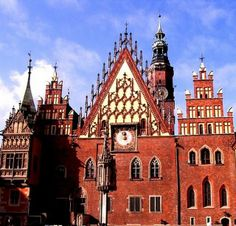 Such a gorgeous City Hall we have! / Wrocław, Poland