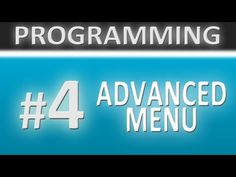 Unity 3D Tutorials - Programming - #4 Advanced Menu
