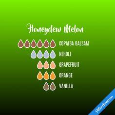 Honeydew Melon - Essential Oil Diffuser Blend