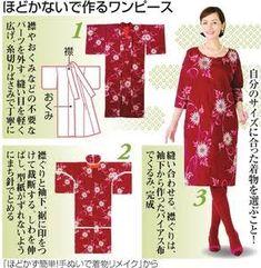 「着物リメイク服 意味」の画像検索結果