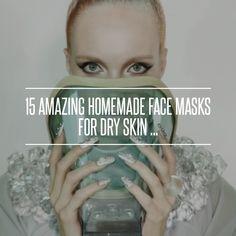 15 #Amazing Homemade Face #Masks for Dry Skin ... → #Skincare #Honey