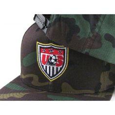 USA Crest Snapback Hat (Camo) - ECapCity d54f8ca48971