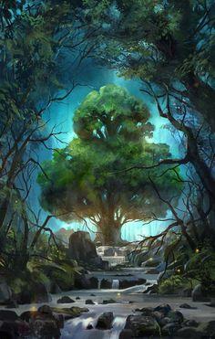 Fantasy World-the tree