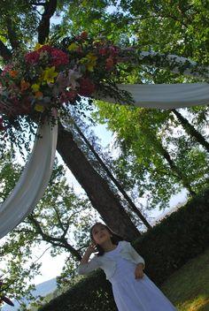 dettaglio arco wedding