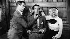 Now with Criterion's imprimatur, DESIGN FOR LIVING, 1933, Paramount, has  rocketed from undeserved obscurity to recognition as the great comedy it is. I've loved it for years and always wondered why this wry, sexy, original, witty deadpan comedy was considered an also-ran. Perhaps being a bastard child of two sources (Noel Coward, stage version; and Ben Hecht, altered screenplay) confused critics. Miriam Hopkins is in her effervescent prime and Gary Cooper still ga-ga's the ladies. (KevinR@Ky)