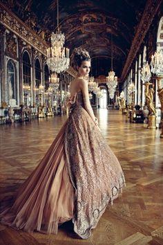 Exploring Versailles by Patrick Dermarchelier