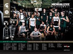 2012-2013 Michigan State Basketball Schedule