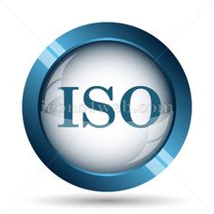 ISO image icon. ISO image button. Icon designed in high resolution and well suited for websites and high quality printing.
