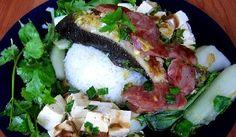 Melveen's Steamed Butterfish Ualapue Style
