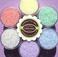 Pastel Sparkling Sugar Sprinkle Kit- perfect for cupcakes/cake