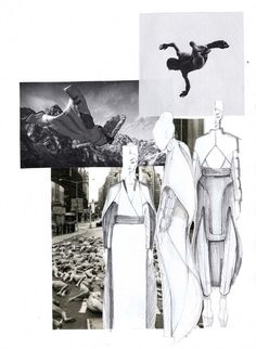 Falling is a collection inspired by adrenaline that you get from a feeling when you are flying. It is inspired by a feeling that you are going to fall down but in reallity it does not happen. Sketchbook Layout, Textiles Sketchbook, Fashion Design Sketchbook, Fashion Design Portfolio, Sketchbook Inspiration, Fashion Sketches, Fashion Illustrations, Portrait Illustration, Illustration Sketches