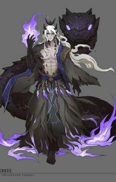 Demon Art, Fantasy Demon, Gothic Fantasy Art, Fantasy Artwork, Anime Demon, Fantasy Character Design, Character Concept, Character Inspiration, Character Art