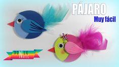Manualidades para niños: pájaro de goma eva