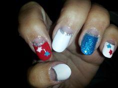 Kathy did my  nails.