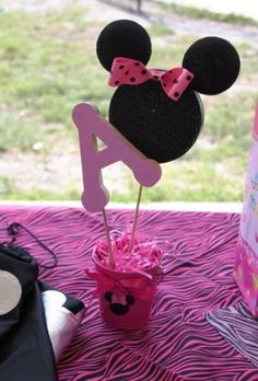 Minnie centerpiece