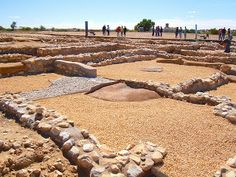 Excavación del poblado carpetano en Llano de la Horca,  en Santorcaz (Madrid)
